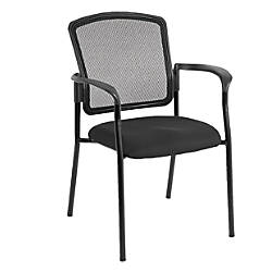 Mammoth Office Products Mesh Back Stackable
