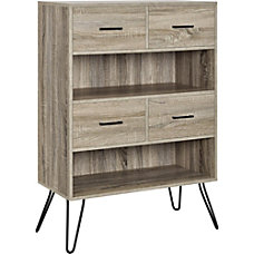 Ameriwood Home Landon Retro 2 Shelf