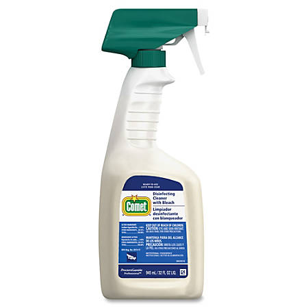 Comet Disinfecting Cleaner With Bleach, 32 Oz