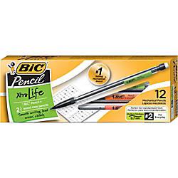 BIC Xtra Mechanical Pencils Xtra Life