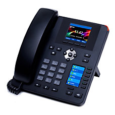 XBLUE IP7g Universal VoIP Telephone Black