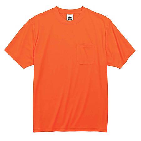 Ergodyne GloWear 8089 Non-Certified T-Shirt, 5X, Orange