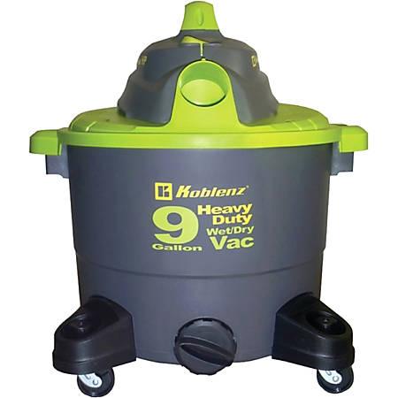 Koblenz Wet/Dry Vacuum Cleaner- 9 Gallon Tank