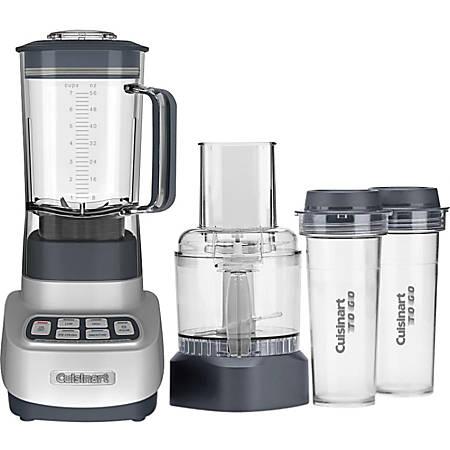 Cuisinart VELOCITY Ultra Trio BFP-650GM Food Processor - 3 Cup (Capacity) - 1.75 quart (Capacity) - 4 Speed - Silver, Gun Metal