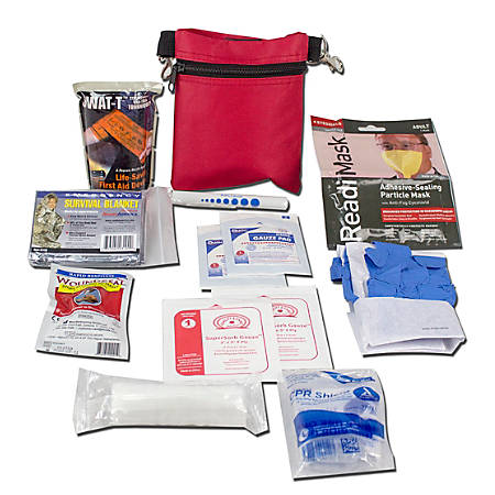 Ready America® Compact Bleed Control Support Kit, Red