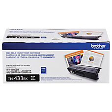 Brother TN433BK High Yield Black Toner