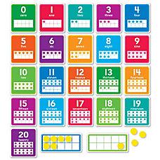 Scholastic 0 20 Numbers Bulletin Board