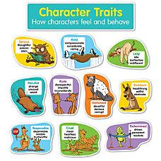 Scholastic Character Traits Bulletin Board Set