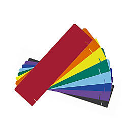 Flipside Corrugated Project Headers Assorted Colors
