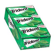 Trident Sugar Free Spearmint Gum 14