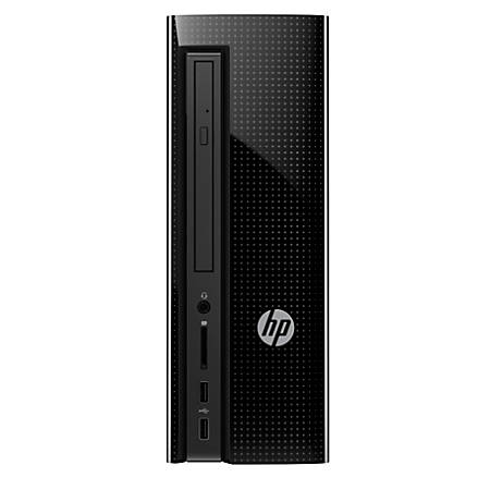 HP Slimline Desktop PC, AMD A9, 8GB Memory, 1TB Hard Drive, Windows® 10 Home, 270-a016, Demo
