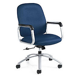 Global Max Mid Back Fabric Chair