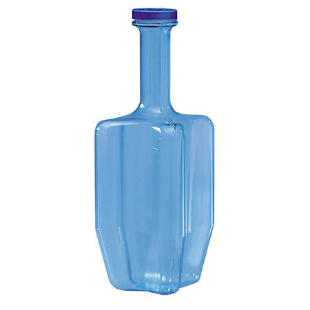 San Jamar® Rapi-Kool® Cold Paddle Container, 2 Qt, Transparent Blue