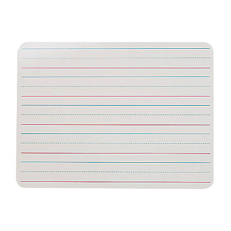 """Flipside Double-Sided Dry-Erase Boards, 9"""" x 12"""", White, Pack Of 6"""