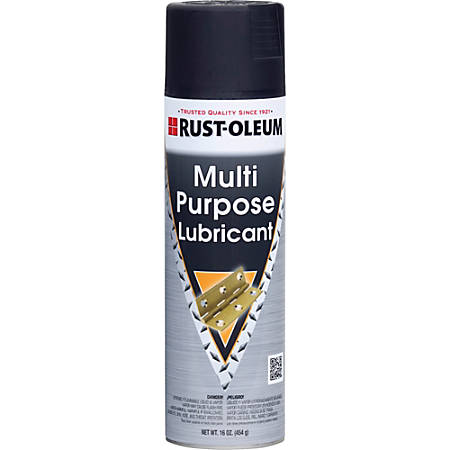 Rust-Oleum Industrial Brands Multi-Purpose Lubricant Spray Can, 16 Oz
