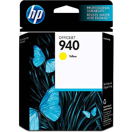 HP 940, Yellow Original Ink Cartridge (C4905AN)