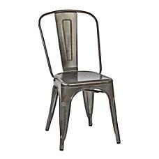 Office Star Bristow Armless Chair Matte