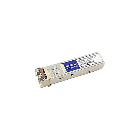 AddOn Brocade E1MG-CWDM80-1610 Compatible TAA Compliant 1000Base-CWDM SFP Transceiver (SMF, 1610nm, 80km, LC) - 100% compatible and guaranteed to work
