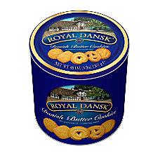 Danish Butter Cookies 3 Lb Tin