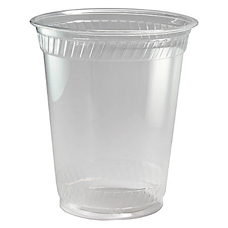 Fabri-Kal® Kal-Clear® Cold Drink Cups, 12 Oz, Clear, 50 Cups Per Sleeve, Carton Of 20 Sleeves