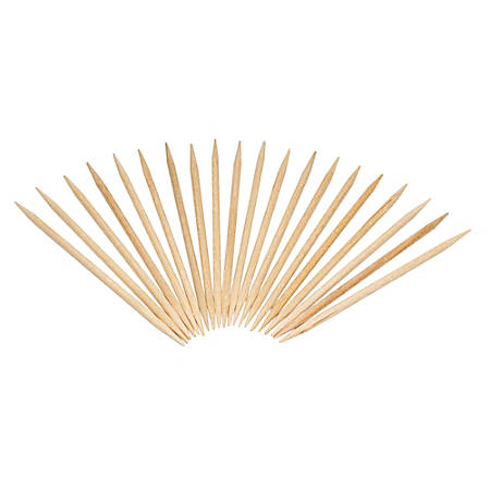 "Royal® Wood Toothpicks, 2 1/2"", Natural, Box Of 19,200 Toothpicks"