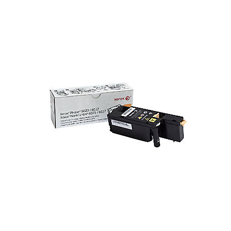 Xerox® WorkCentre 6027 Yellow Toner Cartridge (106R02758)