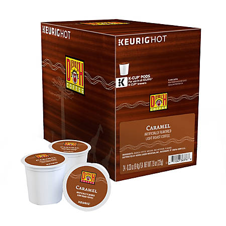 Diedrich Coffee Light Roast Coffee K-Cup® Pods, Caramel, 0.31 Oz, Box Of 24