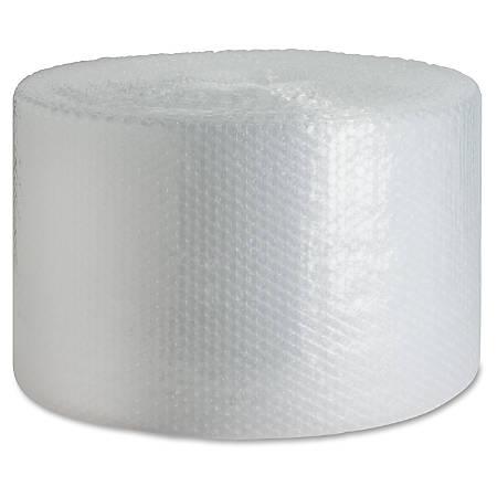 "Sparco Dispenser Carton Bubble Cushioning - 12"" Width x 175 ft Length - 0.2"" Bubble Size - Dispenser, Flexible, Lightweight - Polyethylene - Clear"