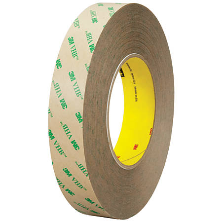 "3M™ F9473PC VHB™ Tape, 4"" x 5 Yd., Clear"