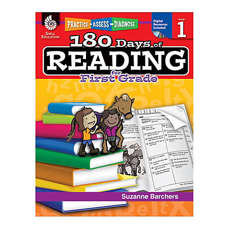 Shell Education 180 Days Of Reading Workbook, Grade 2