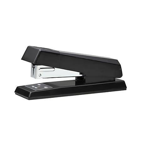 Bostitch No-Jam Compact Stapler - 20 Sheets Capacity - 105 Staple Capacity - Half Strip - Black