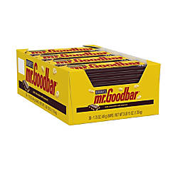 Mr Goodbar Milk Chocolate Bars Box