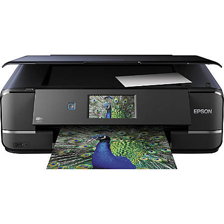 Epson® Expression® XP-960 Wireless Color Inkjet Small-in-One® Printer, Scanner, Copier, Photo