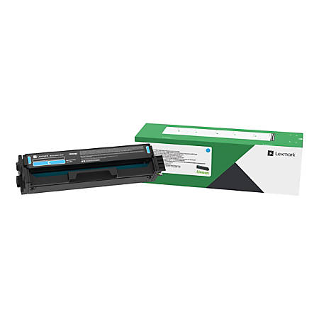 Lexmark Unison Toner Cartridge - Cyan - Laser - Standard Yield - 1500 Pages