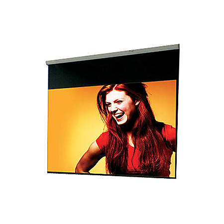 "Draper Luma Manual Wall and Ceiling Projection Screen - 84"" x 84"" - Fiberglass Matt White - 119"" Diagonal"
