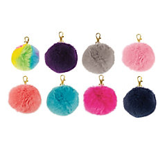 Divoga Pom Pom Key Chain Fluffy