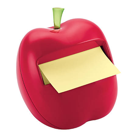 Post-it® Pop-Up Note Dispenser, Red Apple