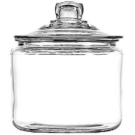 Anchor Jar With Lid, 3 Quart