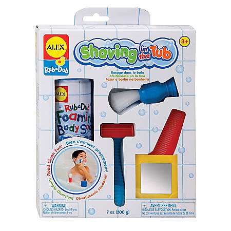 ALEX Jr. Shaving In The Tub Set, Pre-K To Grade 2