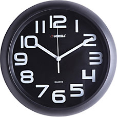 Lorell 11 58 Quiet Wall Clock