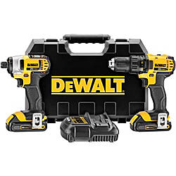 Dewalt Cordless Combo Kit