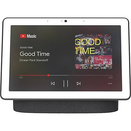Google Nest HubMax Smart Home Assistant - Charcoal