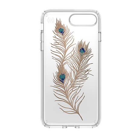 Speck® Presidio™ CLEAR Hard Case For Apple® iPhone® 7 Plus, Feathers