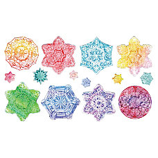 ChenilleKraft Snowflake Embossed Paper Set 24