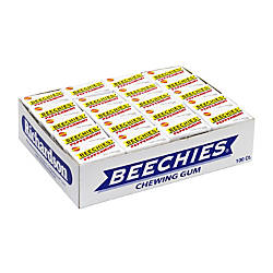 Beechies Peppermint Gum Pack Of 100
