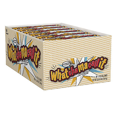 Whatchamacallit Candy Bars, 1.6 Oz, Pack Of 36