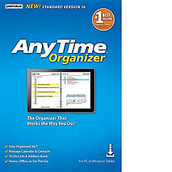 AnyTime Organizer Standard 16 Download Version