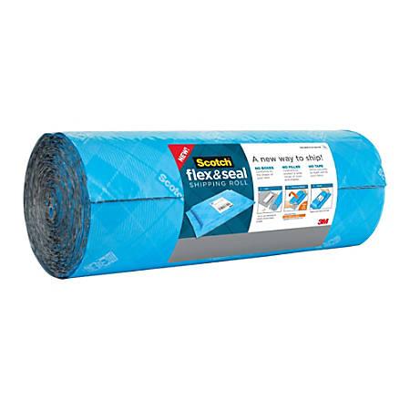 "Scotch® Flex & Seal Shipping Roll, 15"" x 20', Light Blue"