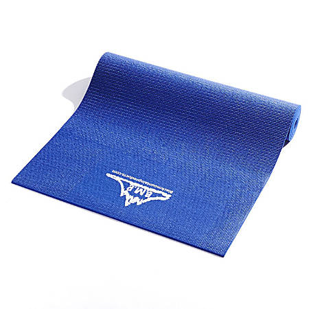 "Black Mountain Products Yoga Mat, 72"" x 24"", Blue"
