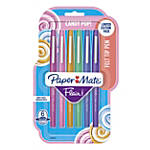 Paper Mate® Flair® Candy Pop Felt-Tip Markers, 1.0 mm, Medium Point, Assorted Colors, Pack Of 6